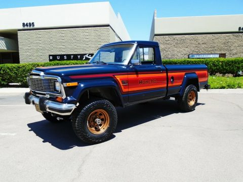 newly installed lift 1982 Jeep J10 Honcho pickup 4×4 for sale
