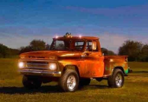 rat rod 1965 Chevrolet Stepside Pickup 4×4 for sale