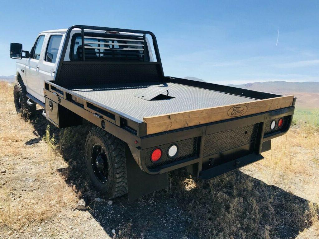 rust free 1996 Ford F 350 XLT 4×4
