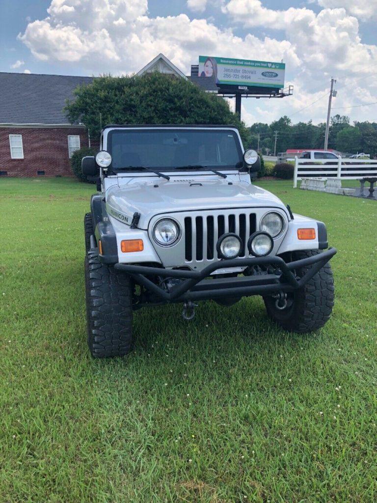 rust free 2003 Jeep Wrangler 4×4