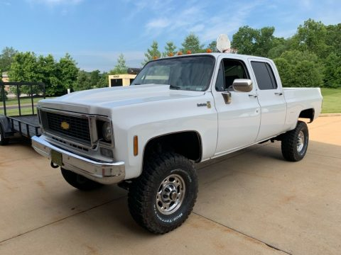 upgraded 1976 Chevrolet 2500 Pickup 4×4 for sale