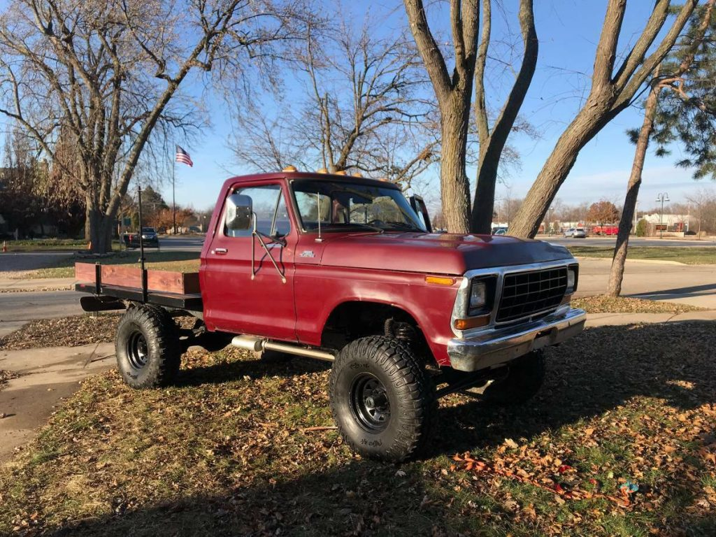 very clean 1979 Ford F 150 4×4