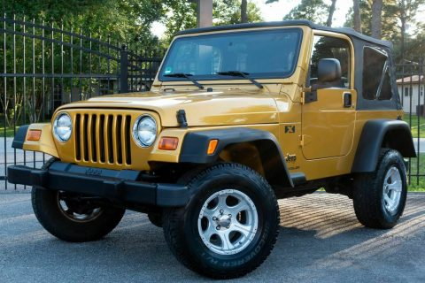 very clean 2003 Jeep Wrangler X 4×4 for sale