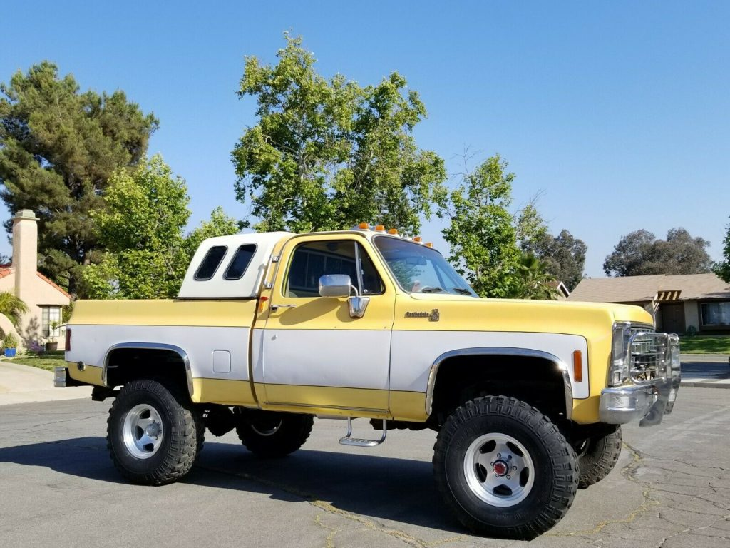 very nice 1979 Chevrolet C 10 C/K 1500 Pickup 4×4
