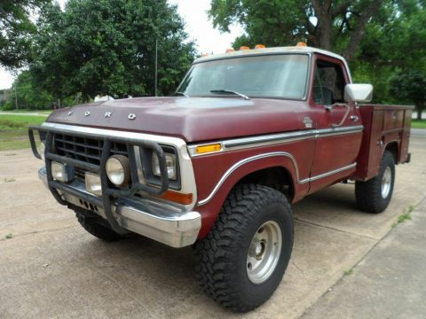 very nice 1979 Ford F 150 Ranger Lariat pickup 4×4 for sale