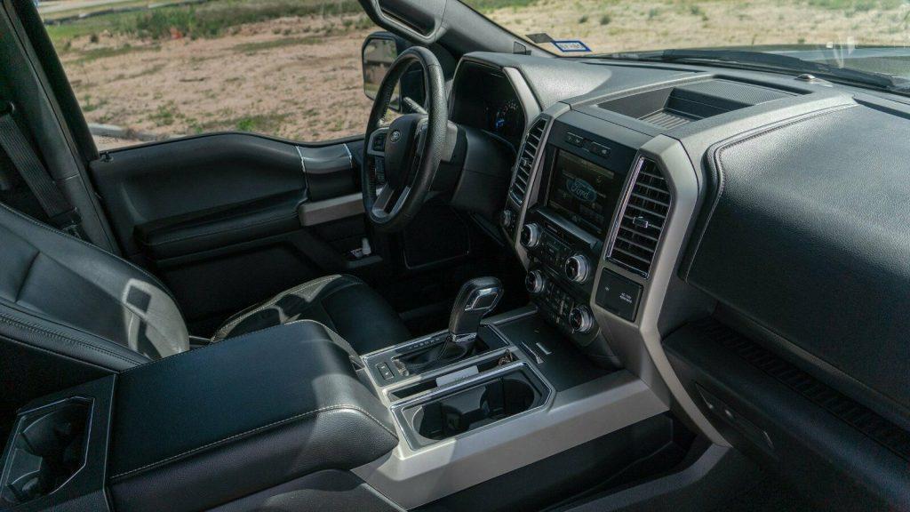 badass 2015 Ford F 150 Lariat pickup 4×4