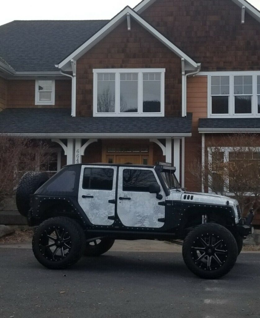 completely modified 2007 Jeep Wrangler Rubicon 4×4