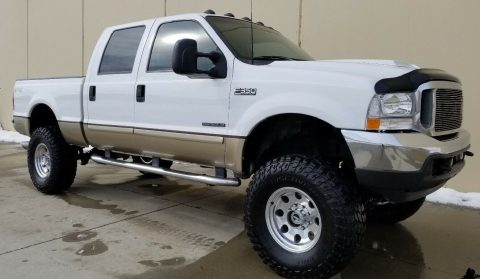 excellent shape 2001 Ford F 350 Lariat Leather Package pickup 4×4 for sale