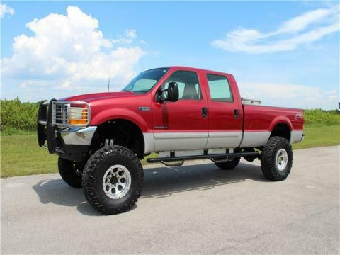 great shape 2001 Ford Super Duty F 250 XLT pickup 4×4 for sale