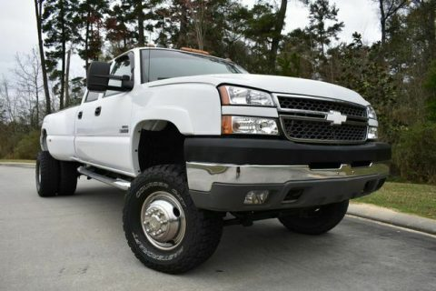 great shape 2005 Chevrolet Silverado 3500 DRW LS 4×4 for sale