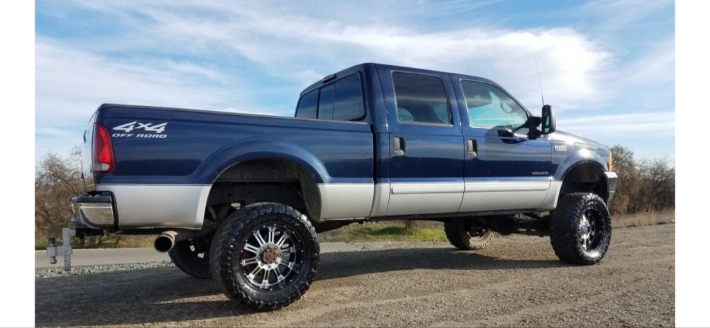 lifted 2001 Ford F 250 XLT 4×4