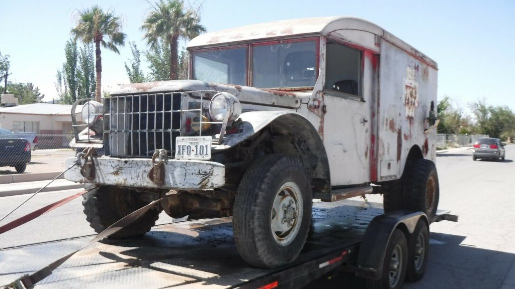 Project 1953 Dodge Ambulance military 4×4