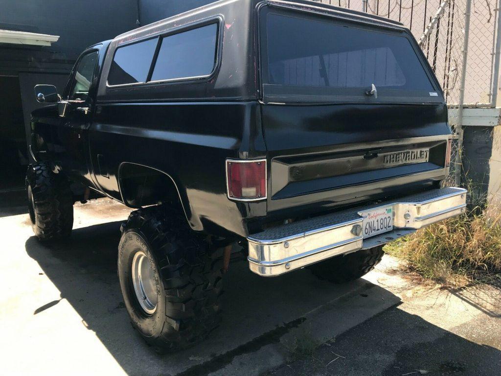 awesome 1984 Chevrolet C/K Pickup 1500 SILVERADO 4×4