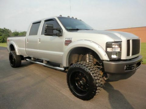 many upgrades 2008 Ford F 350 Super Duty pickup 4×4 for sale