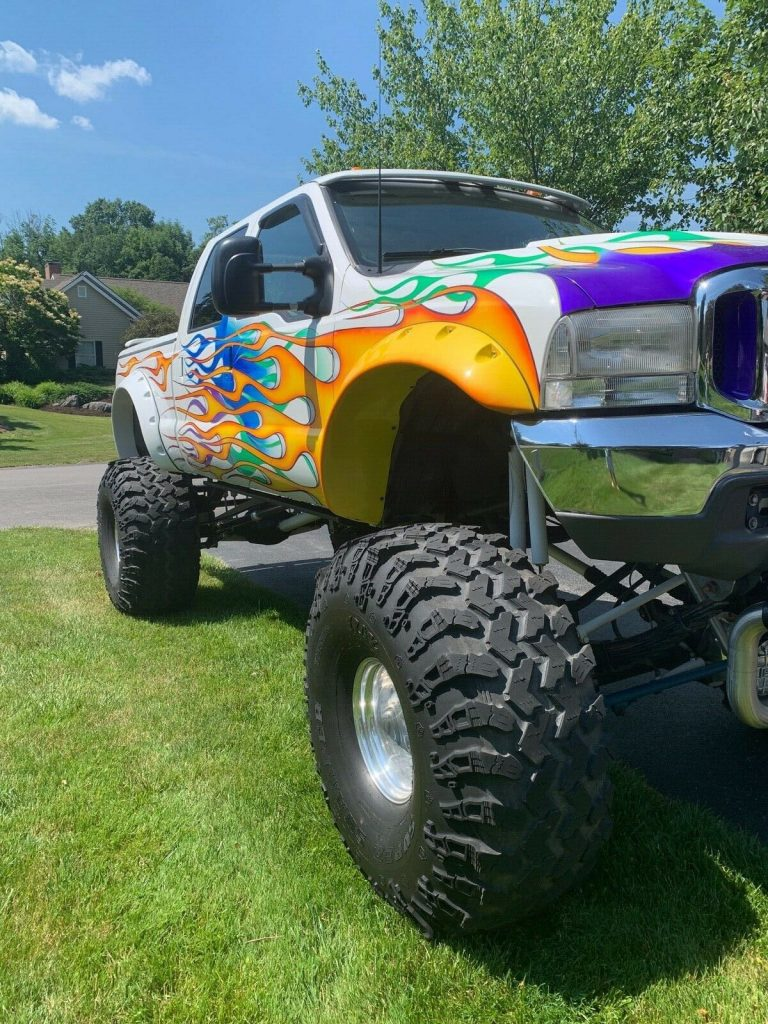 lifted 1999 Ford F 250 4×4