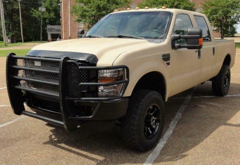 well equipped 2008 Ford F 250 FX4 XLT pickup 4×4 for sale
