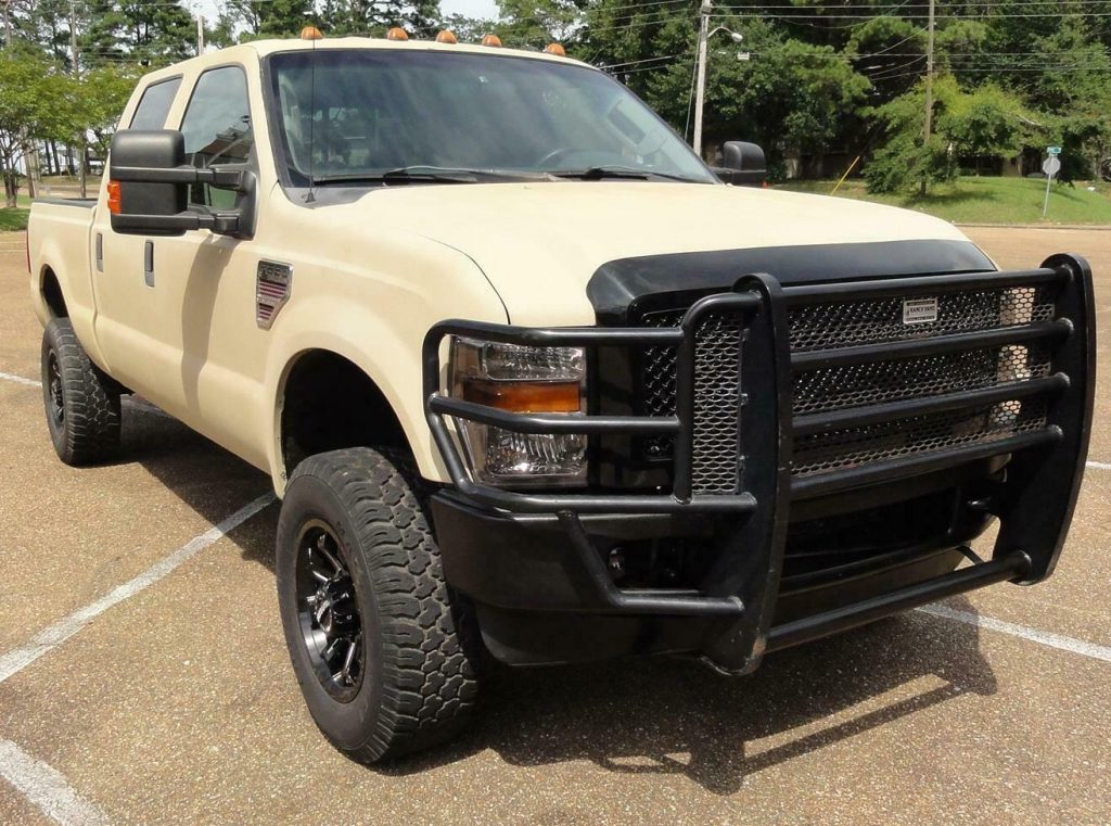 well equipped 2008 Ford F 250 FX4 XLT pickup 4×4