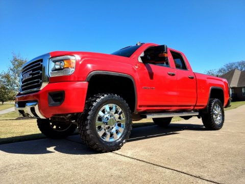 lifted 2015 GMC Sierra 2500 4×4 for sale