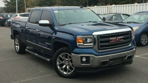 well equipped 2015 GMC Sierra 1500 SLT 4×4 for sale