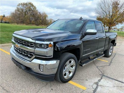 low miles 2017 Chevrolet Silverado 1500 LTZ 4×4 for sale