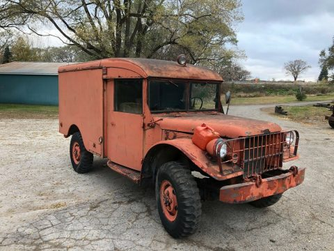 new parts 1942 Dodge M43 Ambulance 4×4 for sale