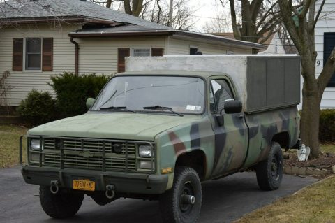 new parts 1985 Chevrolet K30 M1008 4×4 for sale