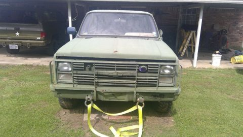 solid 1984 Chevrolet CUCV Blazer 4×4 for sale