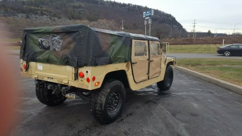 strong running 1986 Hummer Humvee 998 4×4 for sale