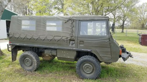 very solid 1974 Steyr Puch Pinzgauer military 4×4 for sale