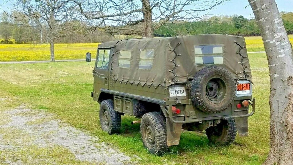 very solid 1974 Steyr Puch Pinzgauer military 4×4