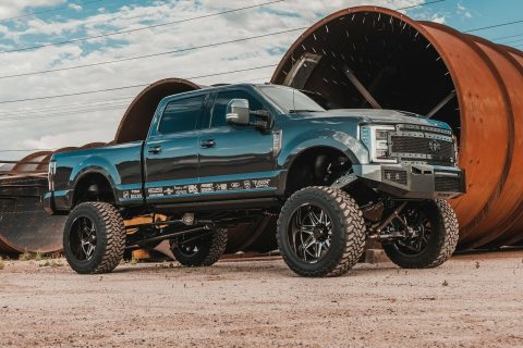 well modified 2017 Ford F 350 Platinum 4×4 for sale