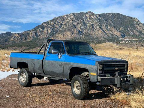 modified 1985 Chevrolet C/K Pickup 2500 Custom Deluxe 4×4 for sale