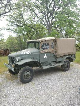 restored 1941 Dodge WC21 4×4 for sale