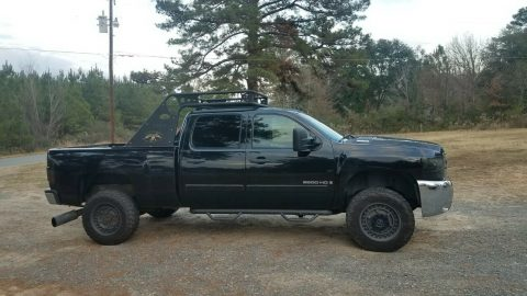 well running 2007 Chevrolet Silverado 2500 2500hd 4×4 for sale