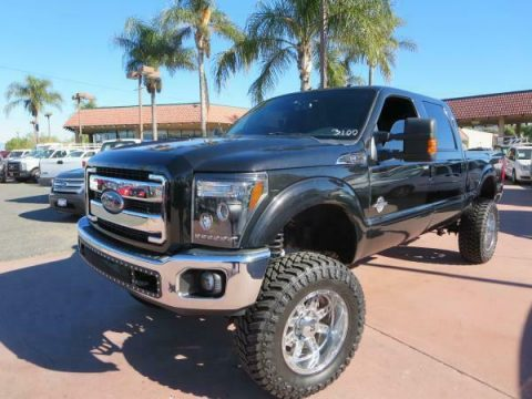 custom lifted 2012 Ford F-250 LARIAT 4×4 for sale