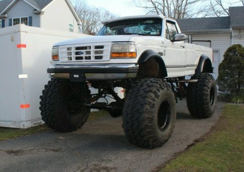 one of a kind 1992 Ford F 250 XLT 4×4 for sale