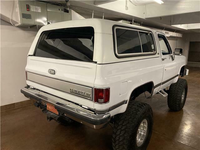 rust free 1990 Chevrolet Blazer K5 Silverado 4×4