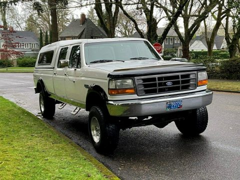 rust free 1995 Ford F 350 XL 4×4 for sale