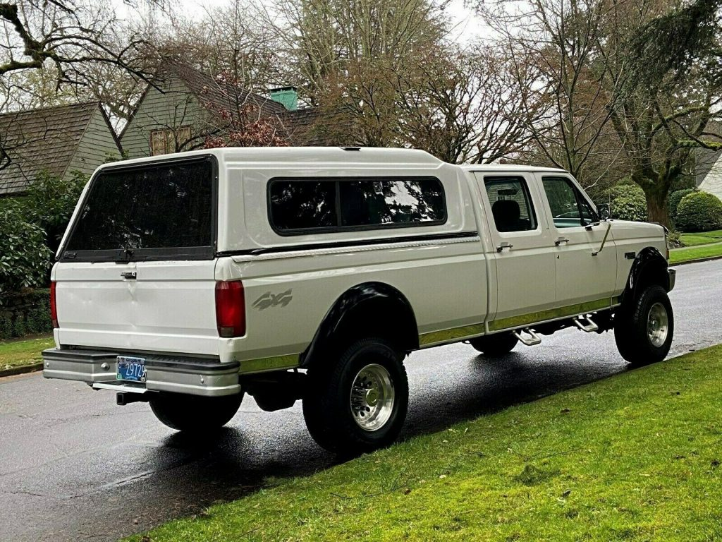rust free 1995 Ford F 350 XL 4×4