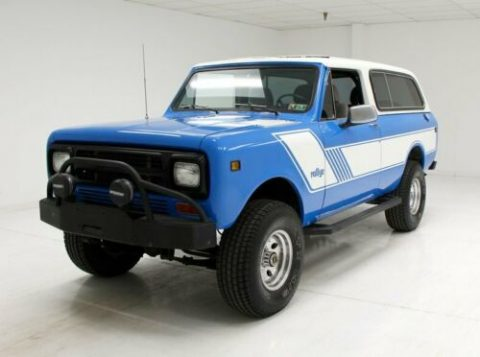 very nice 1980 International Scout 4×4 for sale