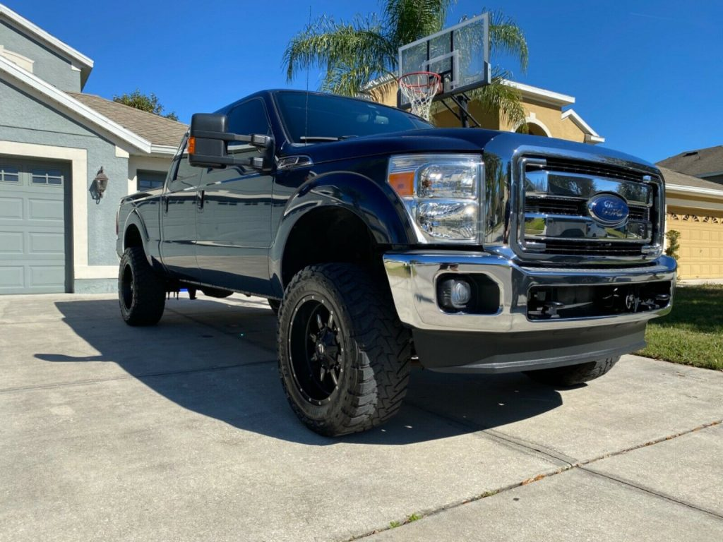 well optioned 2013 Ford F 250 Super DUTY 4×4