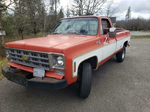 awesome daily driver 1977 Chevrolet Cheyenne 4×4 for sale