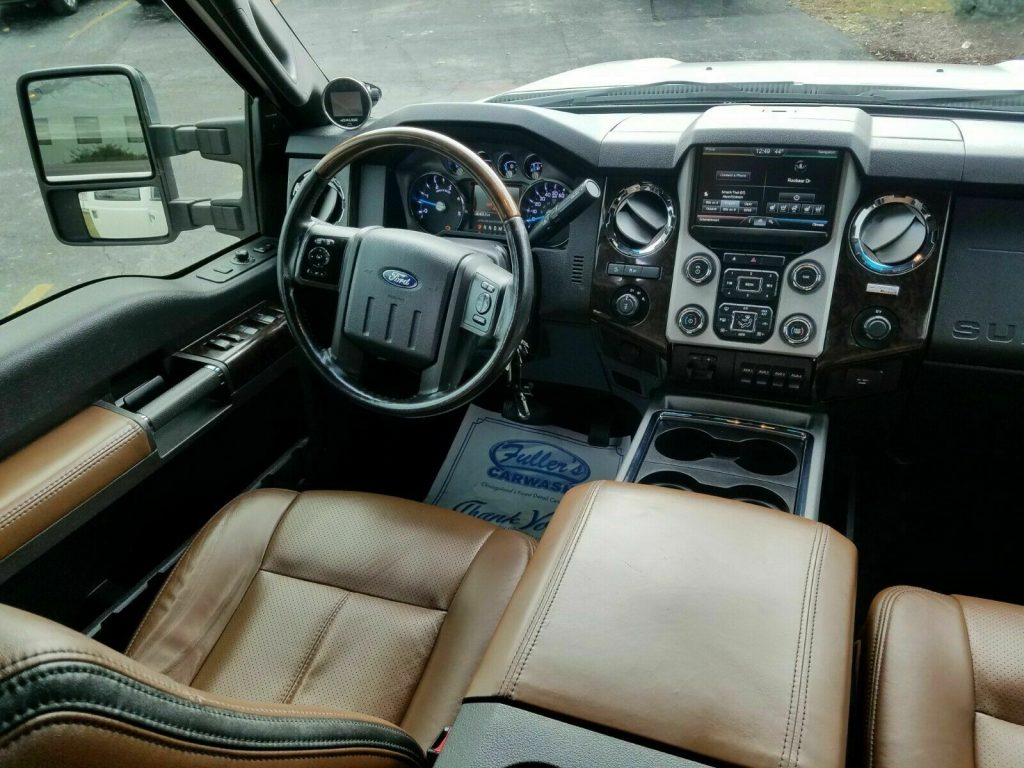 detailed 2013 Ford F 250 Platinum 4×4