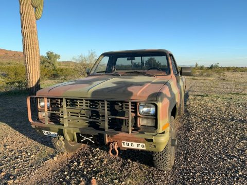 great shape 1986 Chevrolet 4×4 5/4 Ton M1008 CUCV 4×4 for sale