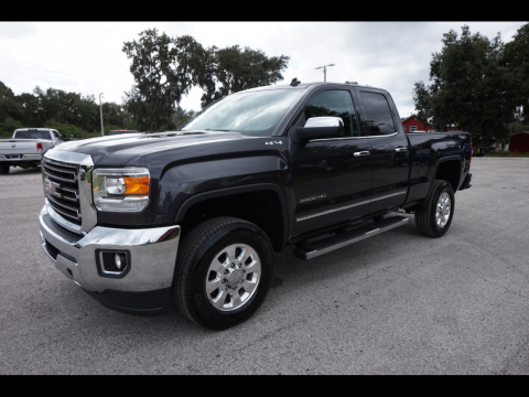 very clean 2015 GMC Sierra 2500 SLT Double Cab 4×4 for sale