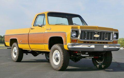 4×4 conversion 1973 Chevrolet C/K Pickup 3500 C20 4×4 for sale