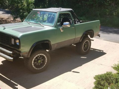 rare 1978 Dodge Ramcharger 4×4 for sale